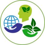 Logotip informacij in prispevkov vezanih na pridelavo hrane, varovanje okolja in krajine.